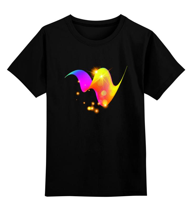 Детская футболка классическая унисекс Printio Световой принт