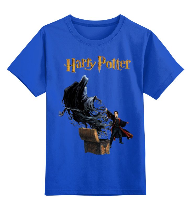 Детская футболка классическая унисекс Printio Гарри поттер махаон сказки барда бидля дж роулинг
