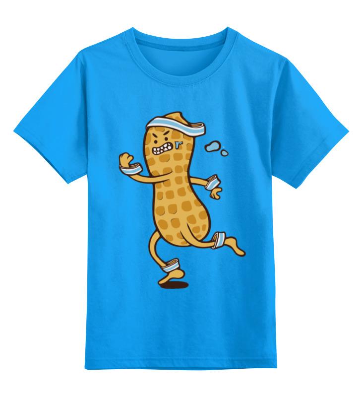 Детская футболка классическая унисекс Printio Арахис спортсмен лонгслив printio арахис спортсмен