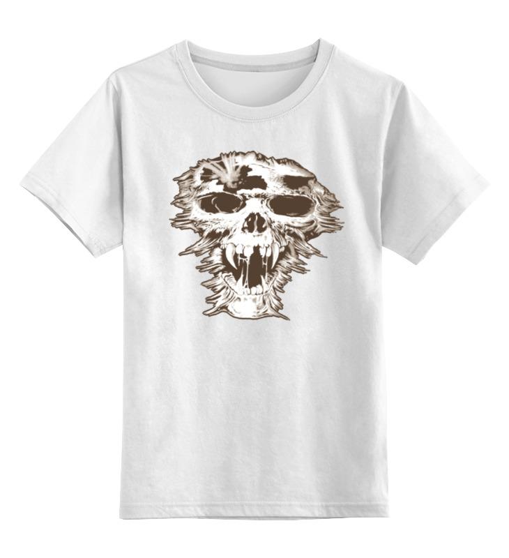 Детская футболка классическая унисекс Printio Skull art детская футболка классическая унисекс printio skull art