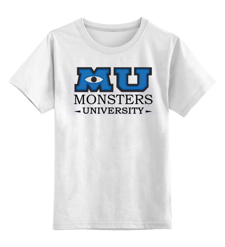 Printio Monsters university детская футболка классическая унисекс printio fukuoka university cyan