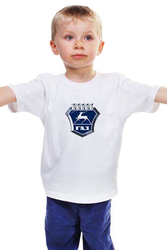 Детская футболка классическая унисекс Printio Газ нижний новгород мпк1400 купить в нижнем новгороде