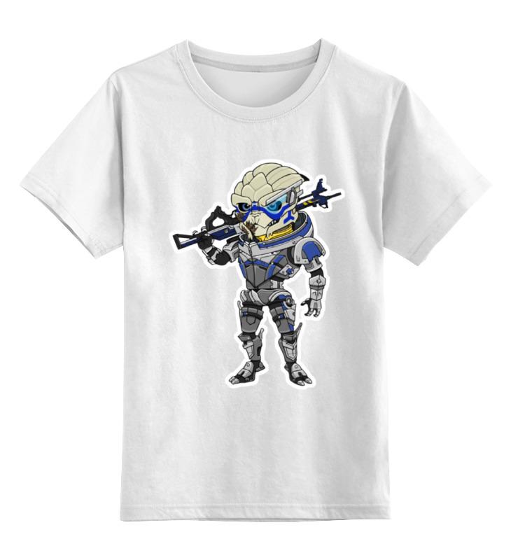 Детская футболка классическая унисекс Printio Гаррус вакариан футболка для беременных printio гаррус вакариан