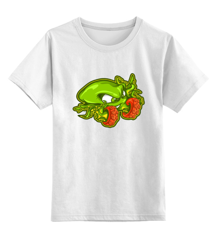 Детская футболка классическая унисекс Printio Осьминог