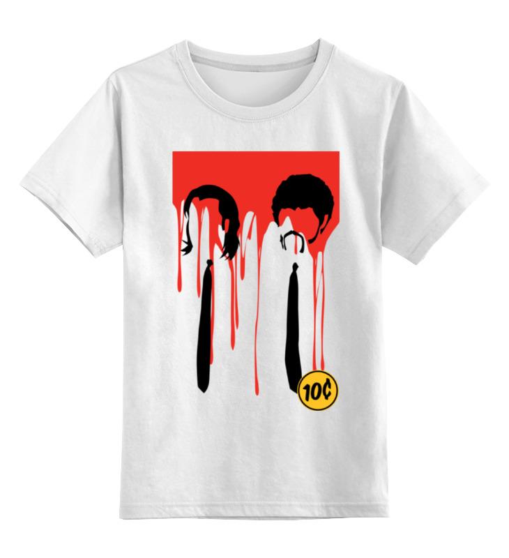 Printio Криминальное чтиво детская футболка классическая унисекс printio криминальное чтиво