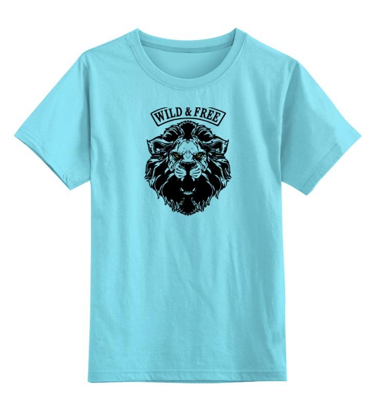 Детская футболка классическая унисекс Printio Wild&free детская футболка классическая унисекс printio wild by devildoll