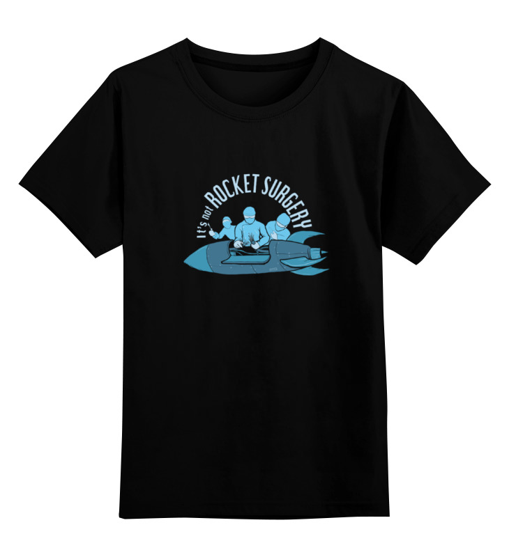 Детская футболка классическая унисекс Printio Rocket