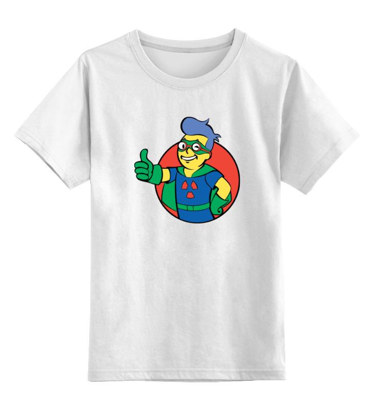 Детская футболка классическая унисекс Printio Фэллаут цена и фото