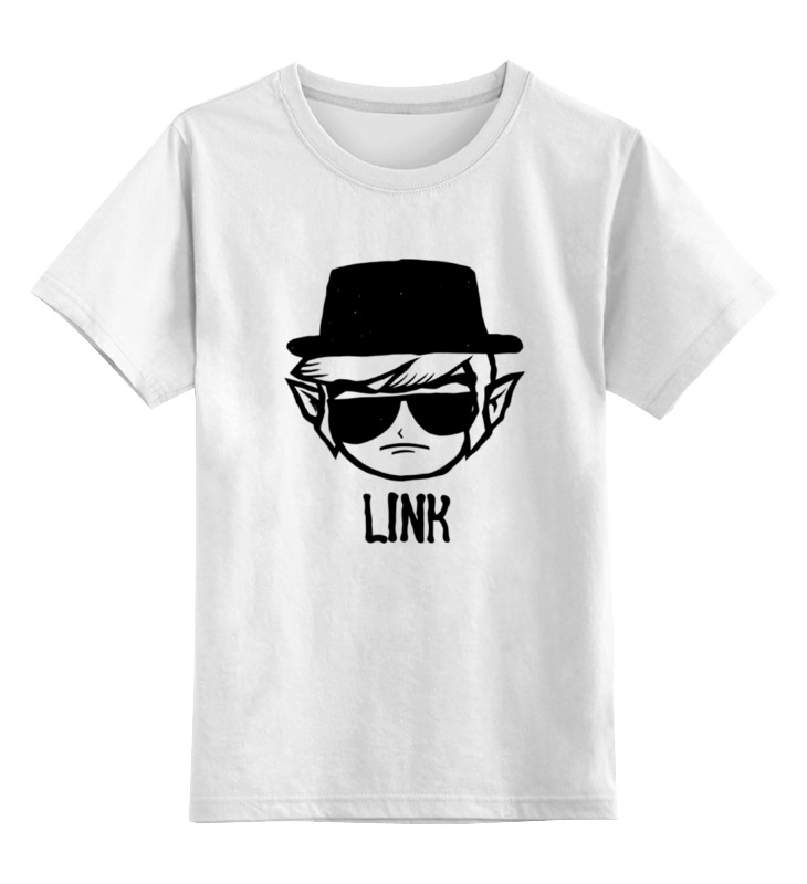 Детская футболка классическая унисекс Printio Link heisenberg детская футболка классическая унисекс printio демон