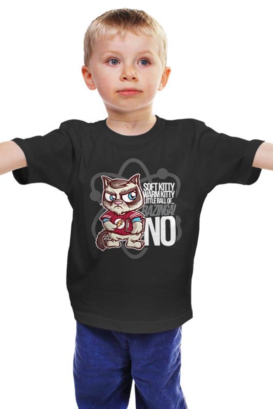 Детская футболка классическая унисекс Printio Bazinga! детская футболка классическая унисекс printio мачете