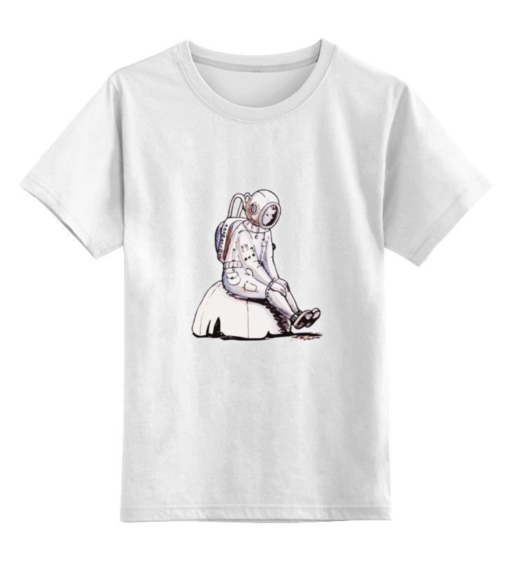 Детская футболка классическая унисекс Printio Одиночество на марсе рустем галиуллин одиночество