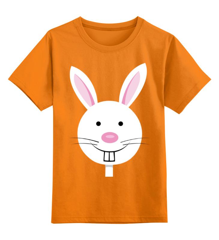 Детская футболка классическая унисекс Printio Заяц-забегаец валик fit 01853