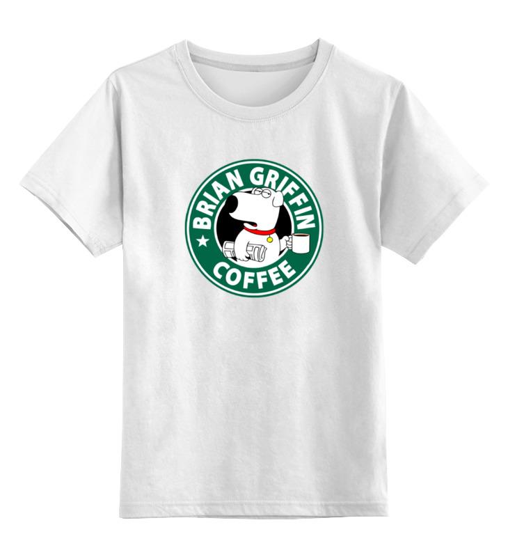 Детская футболка классическая унисекс Printio Брайан гриффин griffin чехол книжка griffin универсальный 7 кожзам ткань красно коричневая