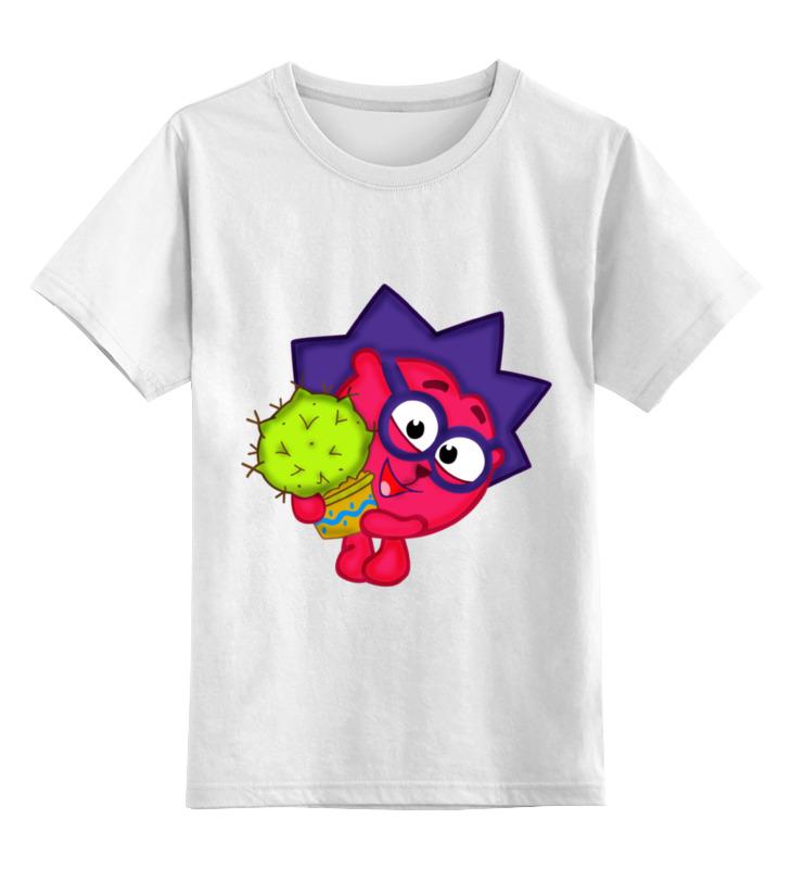 Детская футболка классическая унисекс Printio Смешарики смешарики лучшее ежик