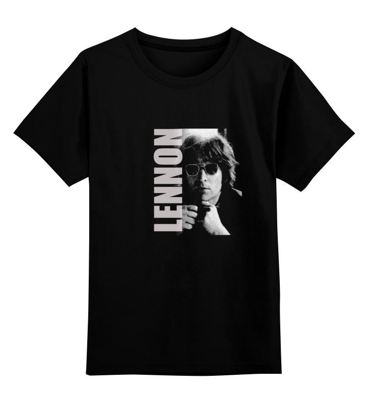Детская футболка классическая унисекс Printio Джон леннон битлз футболка битлз