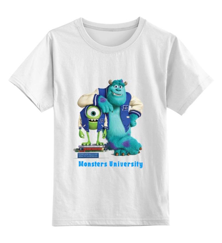 Детская футболка классическая унисекс Printio Monsters university детская футболка классическая унисекс printio бегемот