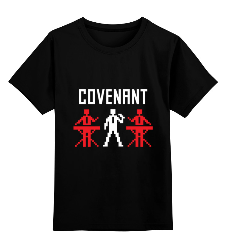 Детская футболка классическая унисекс Printio Covenant цена 2017