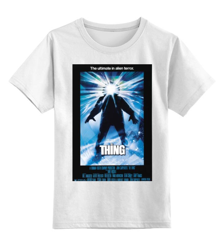Детская футболка классическая унисекс Printio Нечто / the thing футболка классическая printio the black keys