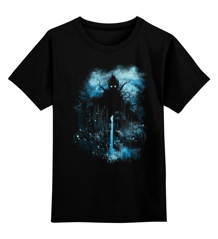 Детская футболка классическая унисекс Printio Владыка миров брукс м война миров z