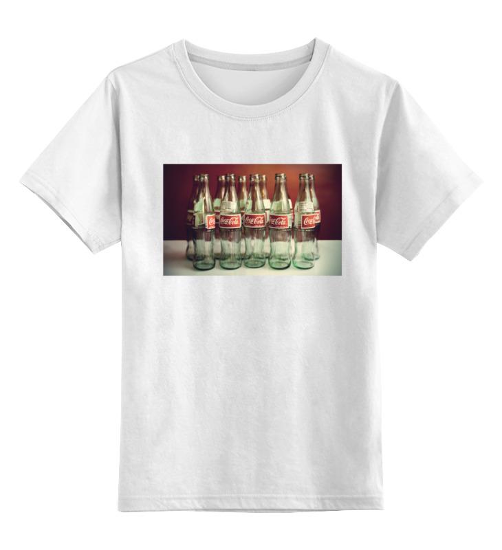 Детская футболка классическая унисекс Printio Coca cola colibri стол coca cola