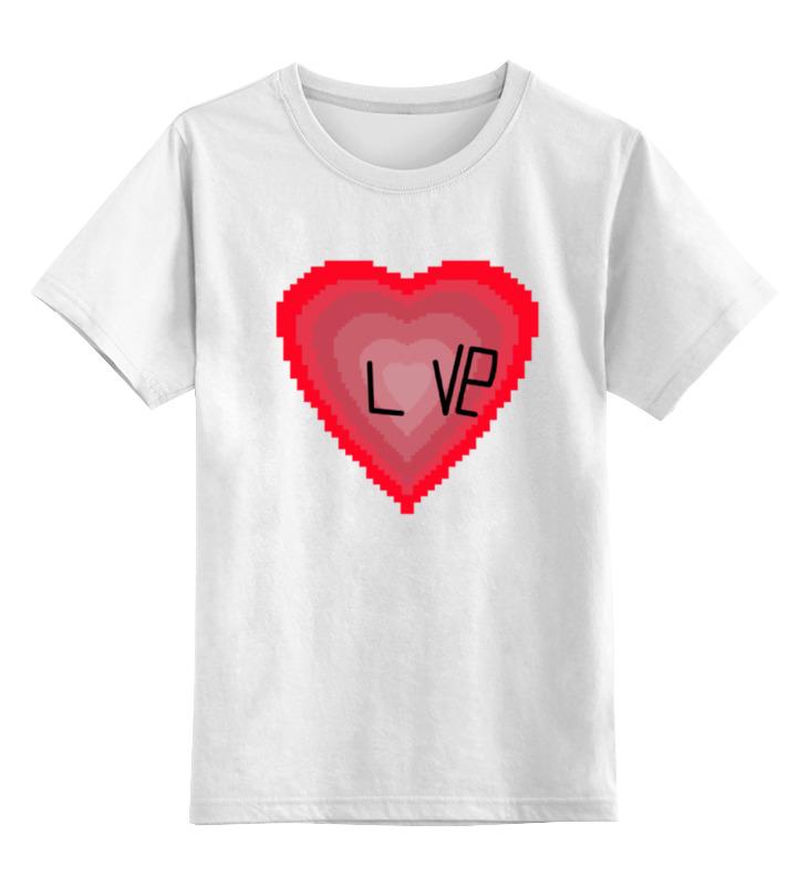 Printio Сердечечко детская футболка классическая унисекс printio любовь love
