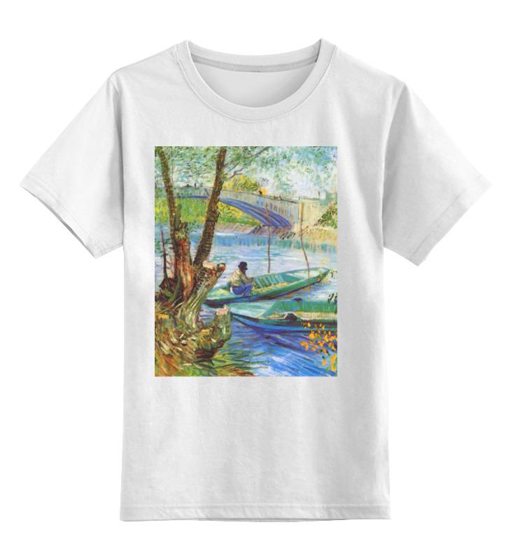 Детская футболка классическая унисекс Printio Весенняя рыбалка. детская футболка классическая унисекс printio рыбалка