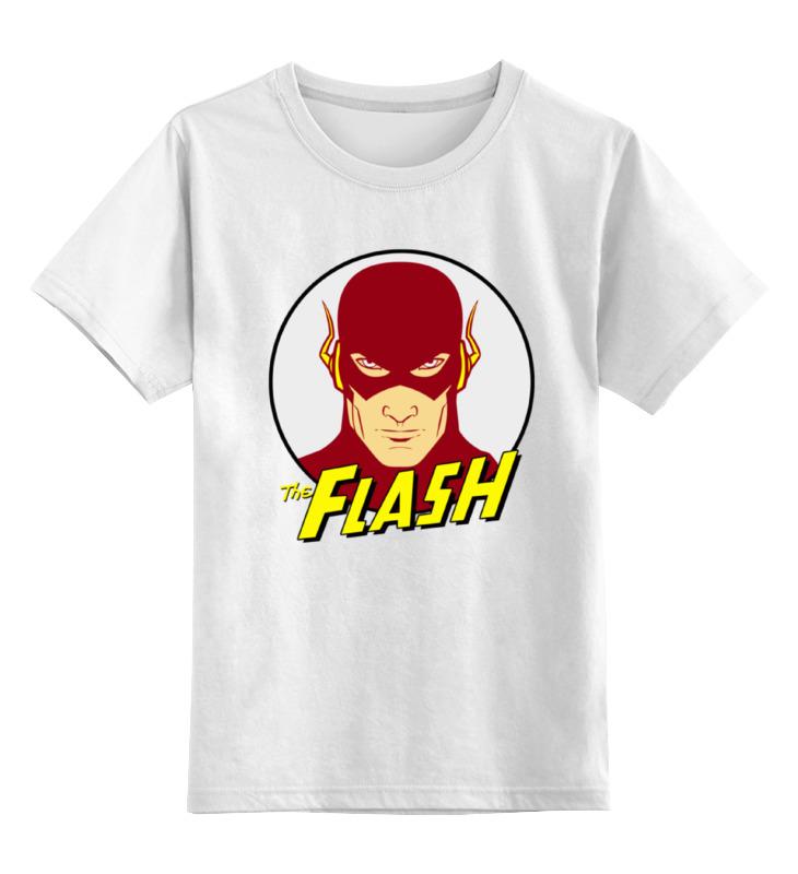Фото - Детская футболка классическая унисекс Printio Флэш (молния) футболка классическая printio флэш