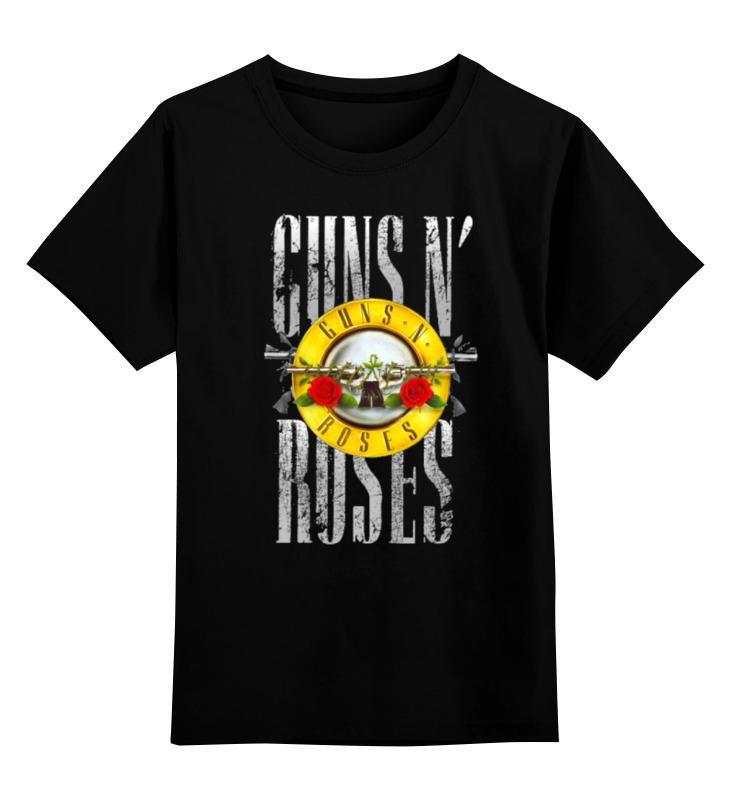 Детская футболка классическая унисекс Printio Guns n' roses люстра ideal lux caesar caesar sp12 cromo