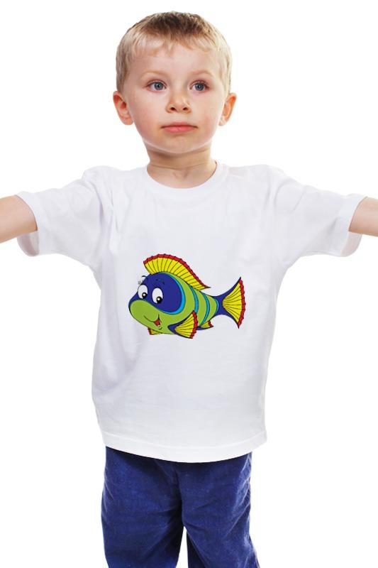 Детская футболка классическая унисекс Printio Рыбка детская футболка классическая унисекс printio рыбка 3
