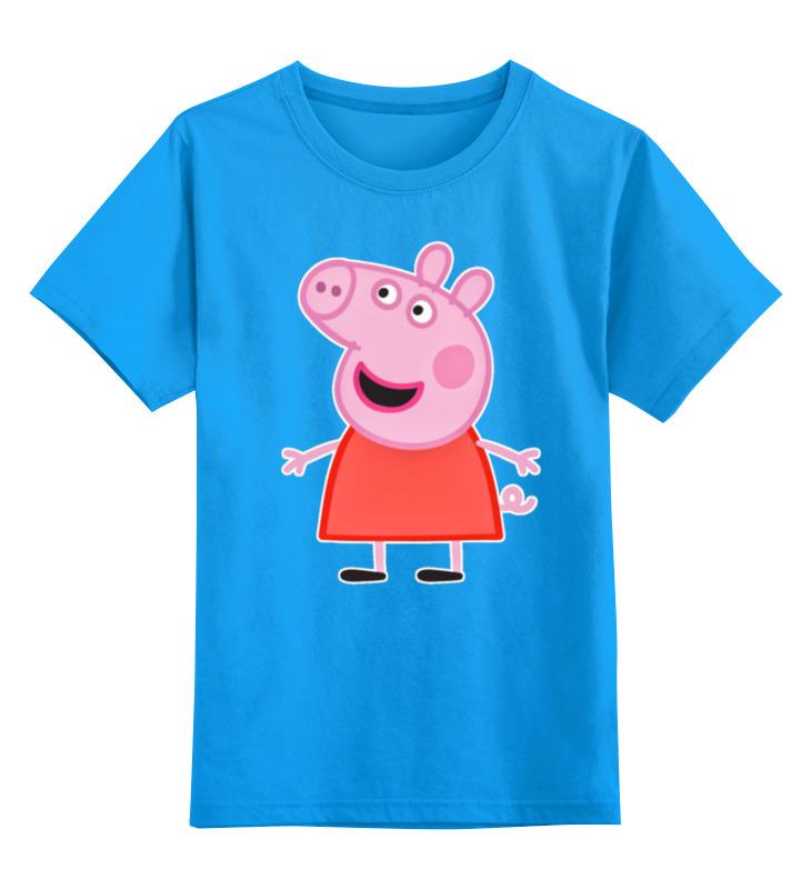 Детская футболка классическая унисекс Printio Свинка пеппа свинка пеппа мы ищем таланты