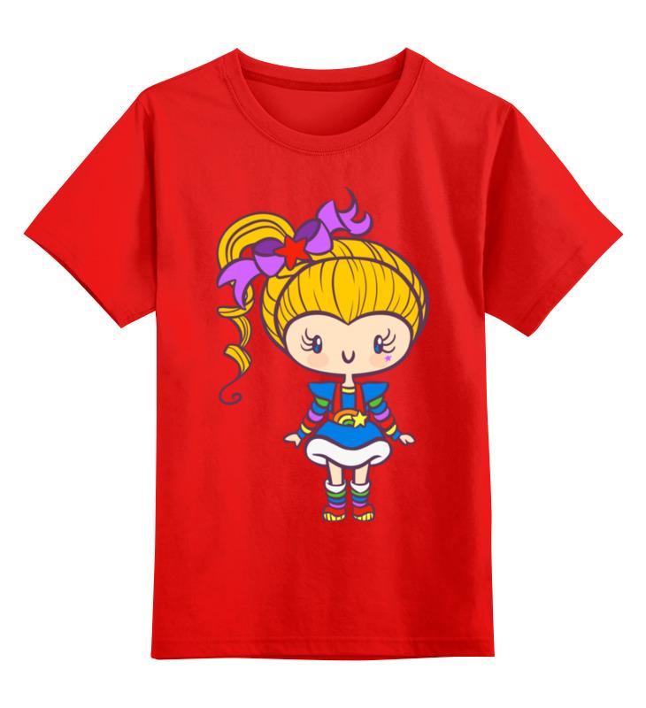 Детская футболка классическая унисекс Printio Яркая девочка