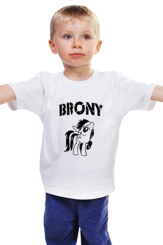 Детская футболка классическая унисекс Printio Brony rainbow dash 2 футболка классическая printio 62 2% в саратове