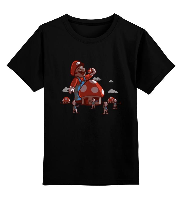 Детская футболка классическая унисекс Printio Марио детская футболка классическая унисекс printio череп марио