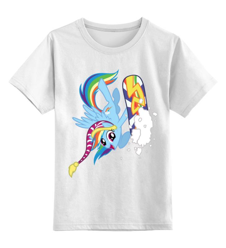 цена Детская футболка классическая унисекс Printio Winter mood онлайн в 2017 году