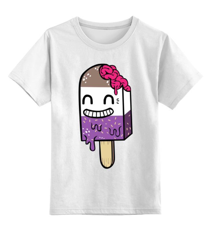 Детская футболка классическая унисекс Printio Эскимо зомби детская футболка классическая унисекс printio зомби россия