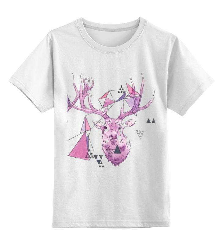 Детская футболка классическая унисекс Printio Хипстер олень детская футболка классическая унисекс printio олень