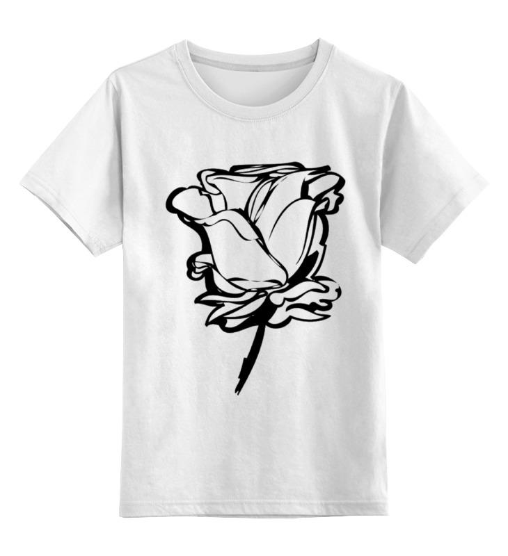 Детская футболка классическая унисекс Printio Розочка) сумка printio розочка