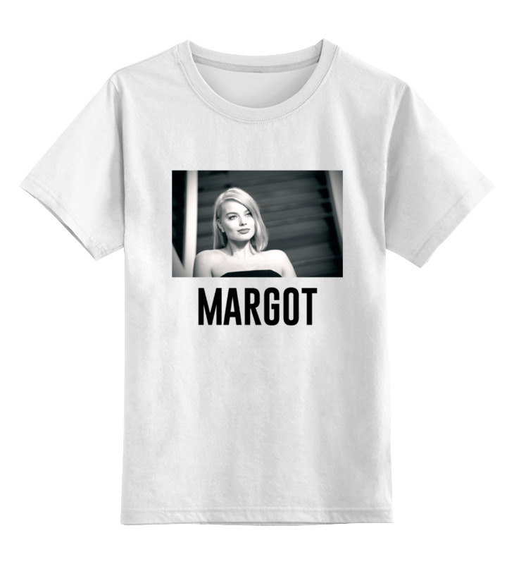 Детская футболка классическая унисекс Printio Марго робби