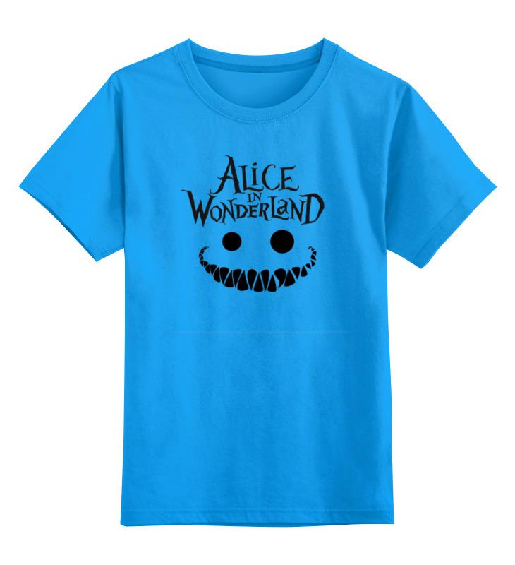 Детская футболка классическая унисекс Printio Alice in wonderland футболка классическая printio alice in wonderland