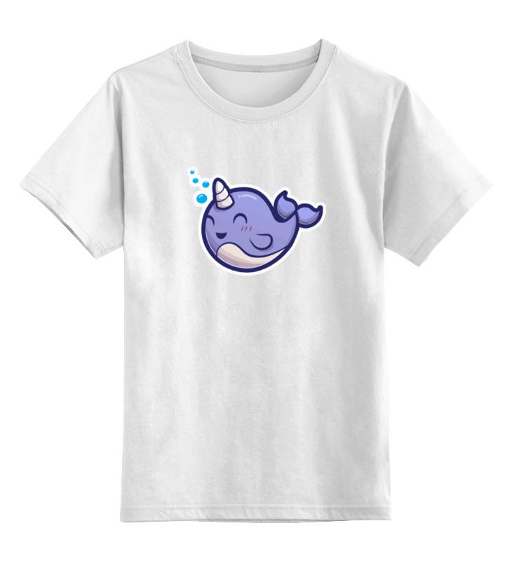 Детская футболка классическая унисекс Printio Единорог unicorn
