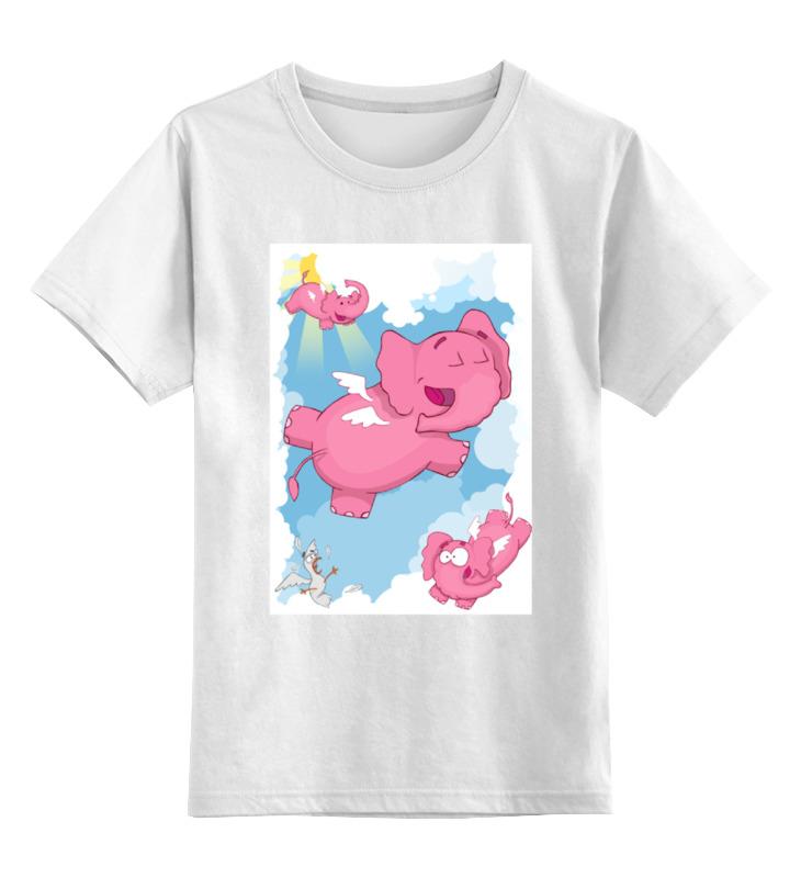 Детская футболка классическая унисекс Printio Слоники футболка стрэйч printio слоники