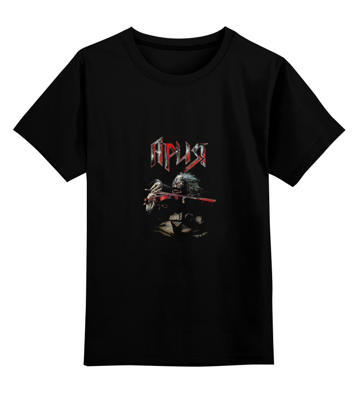 Детская футболка классическая унисекс Printio Ария (симфо) футболка wearcraft premium slim fit printio ария симфо