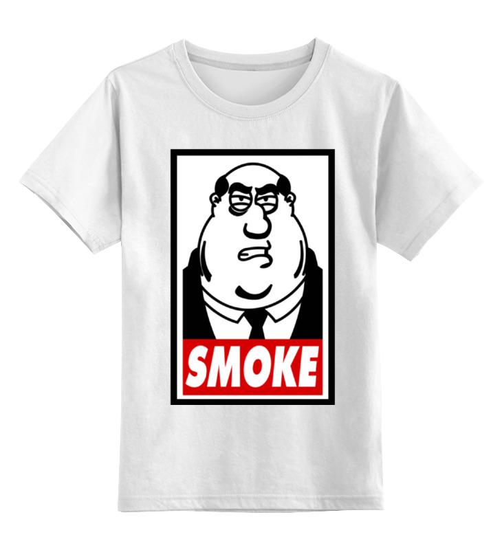 Детская футболка классическая унисекс Printio Смоук (гриффины) лонгслив printio смоук гриффины