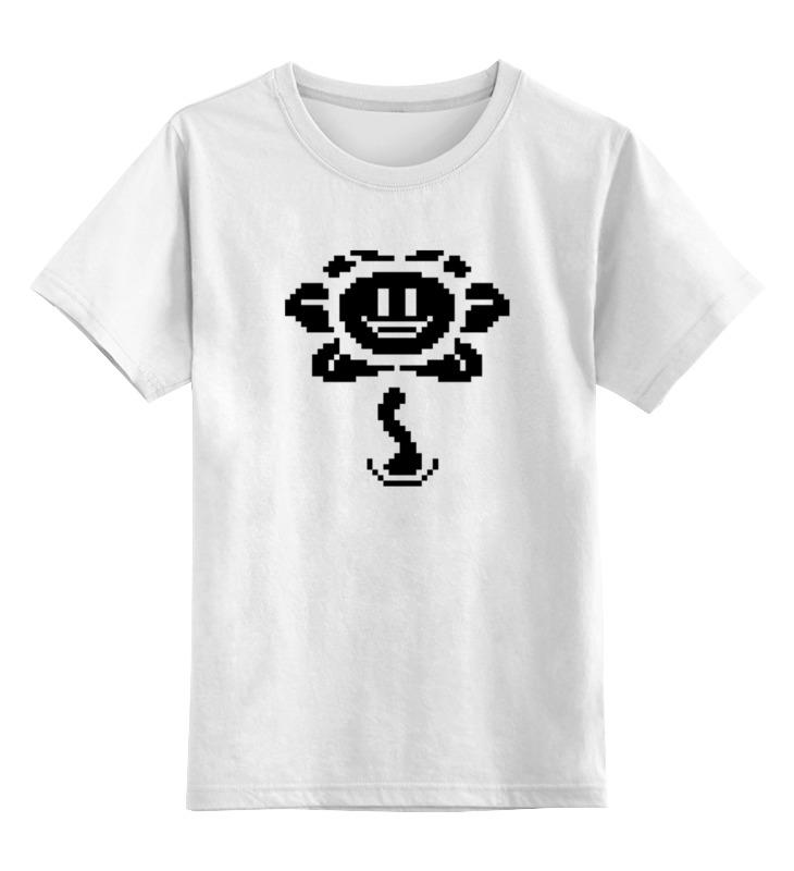 Детская футболка классическая унисекс Printio Цветок марио детская футболка классическая унисекс printio кинг бу марио