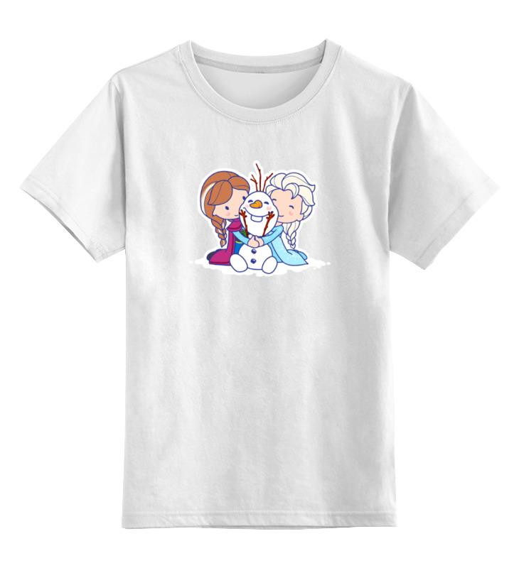 Детская футболка классическая унисекс Printio Снежная королева лонгслив printio снежная королева
