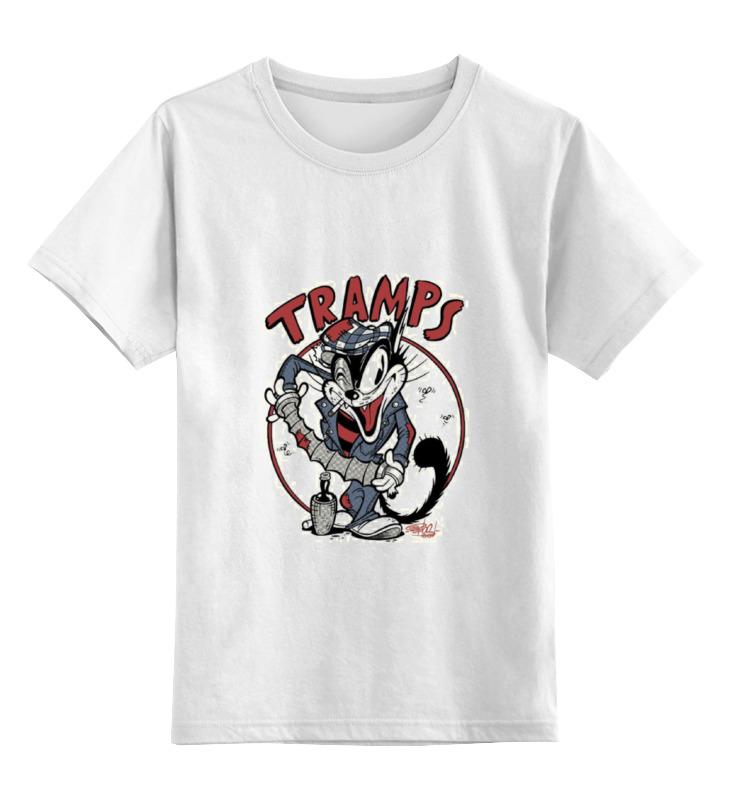 Детская футболка классическая унисекс Printio Tramps цена