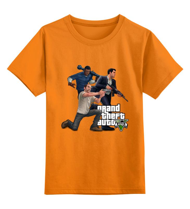Детская футболка классическая унисекс Printio Gta. футболка классическая printio gta 5 poster