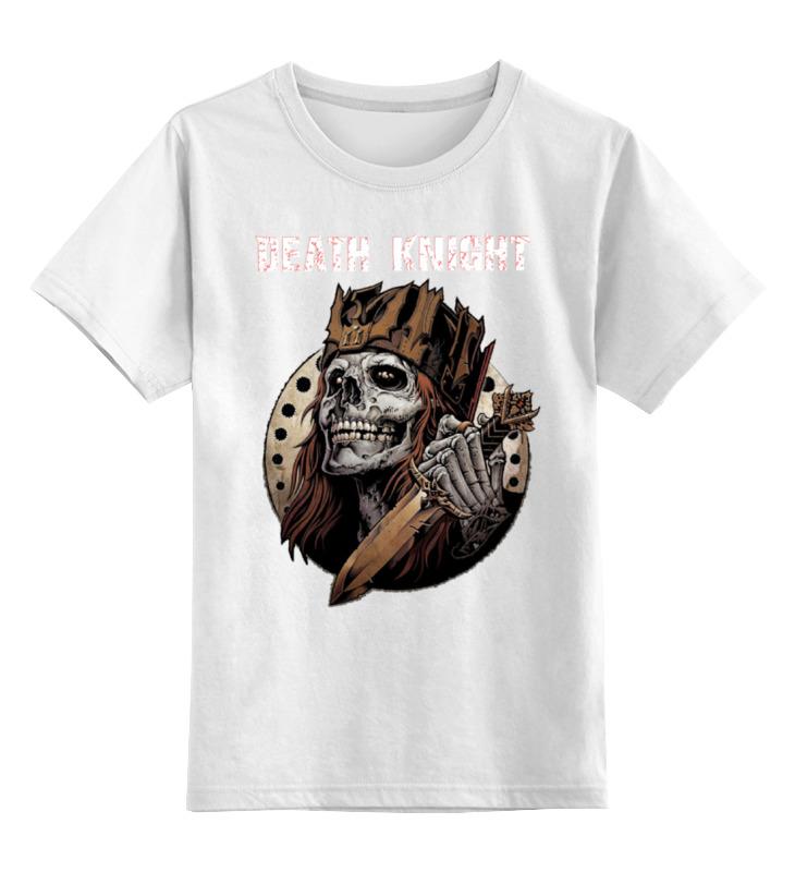 Детская футболка классическая унисекс Printio Death knight детская футболка классическая унисекс printio мачете