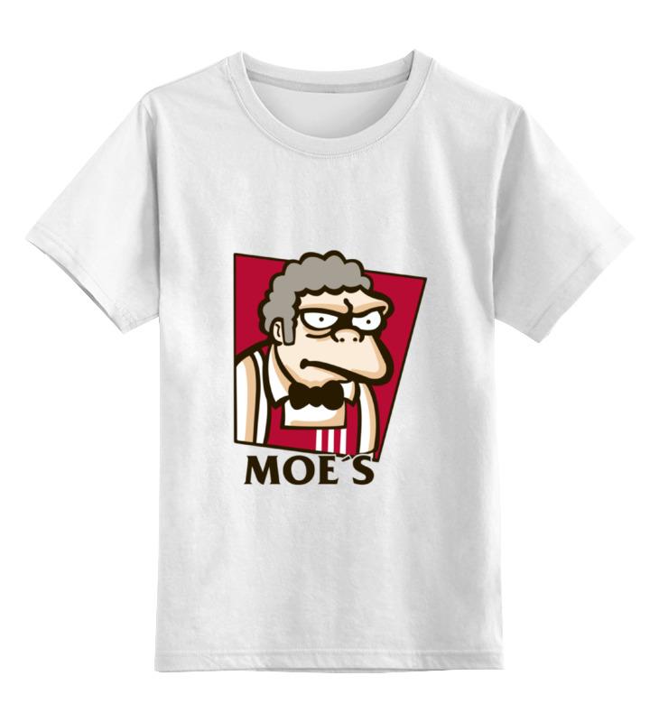 Детская футболка классическая унисекс Printio Симпсоны  мо