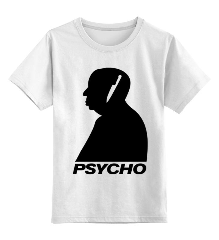 Детская футболка классическая унисекс Printio Хичкок ребелло стивен хичкок ужас порожденный психо
